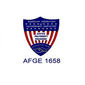 AFGE 1658 Logo - AFGE 1658